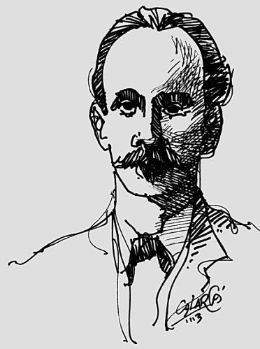 José Martí, en la pluma del maestro Arlés Herrera