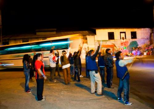Indígenas retornan a su tierra desde Bogotá. Foto Unidad de Víctimas.