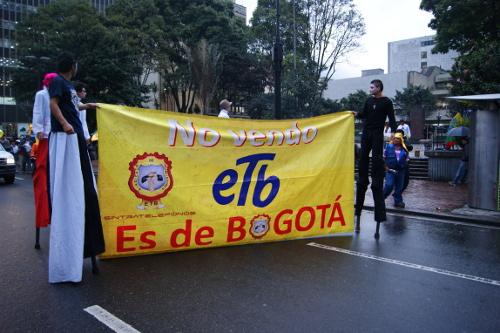 ETB debe medir sus servicios por segundos, dice sindicato.