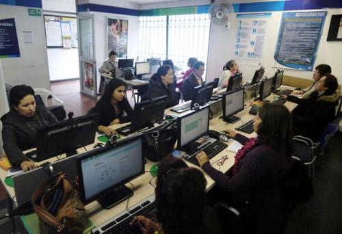 Portal interactivo de la Empresa de Telecomunicaciones de Bogotá, ETB.