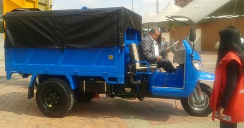 Este es uno de los modelos de vehículos a los que pueden acceder los carreteros. Foto Redacción Bogotá.