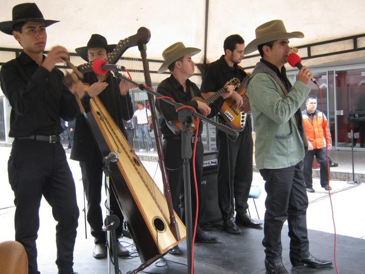 Arpa y folclor del Llano en acto de la USO en Bogotá