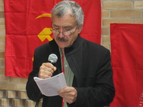 Jaime Caycedo, secretario general del PCC