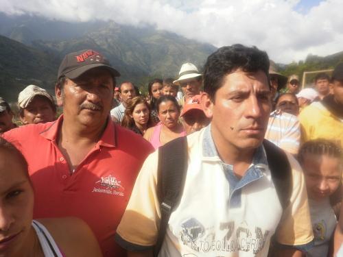 """Comunidad del proyecto barrio """"Pueblo Nuevo"""", Cajamarca, Tolima. Foto Nelosi"""