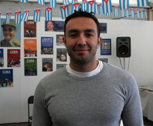 Salim Lamrani (Foto Virgilio Ponce archivo)