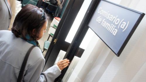 Las personas se aburren de no obtener resultados ante sus denuncias, muchas veces en las propias comisarías de familia. Foto Secretaría de Integración Social.