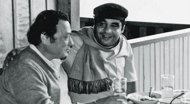 Autor: Archivo SEMANA Manuel Marulanda, alias ´Tirofijo´ y Jaime Pardo, político por el partido de la Unión Patriótica.
