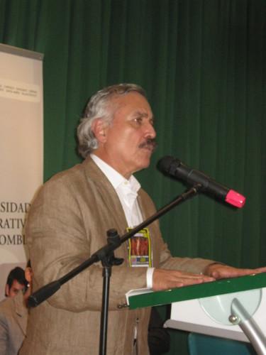 Jaime Caycedo, secretario general del Partido Comunista Colombiano