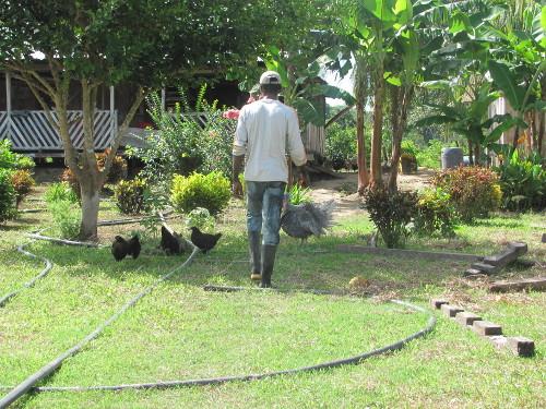 El drama de los sin tierra que fueron víctima del desplazamiento por la codicia de unos pocos. Foto Kikyo