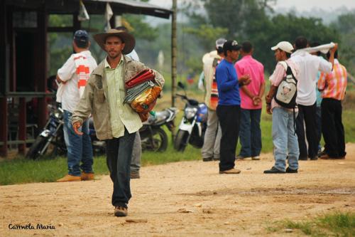III Encuentro de Zonas de Reserva Campesina en San Vicente del Caguán. Foto Carmela María.