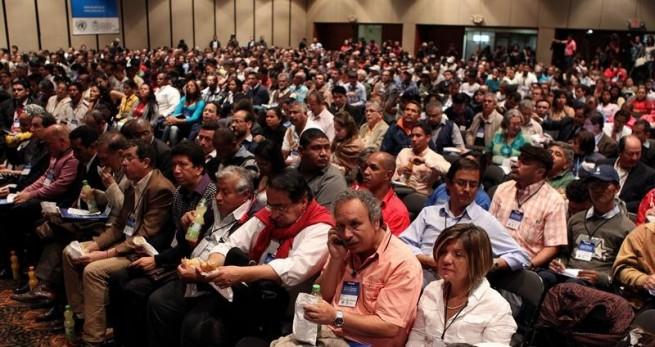 Participantes del Foro Agrario. Foto archivo