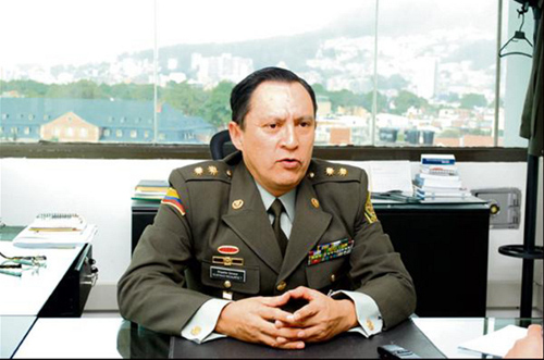 Director del Inpec, general Ricaurte, señalado de obstrucción a la Justicia e impedir que se declare en contra de Montezuma. Foto Fronterainformativa.