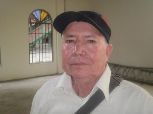 Docente Miguel Antonio López. Foto Nelosi