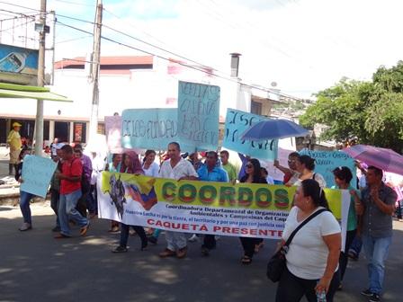 Las organizaciones sociales lideradas por Coordosac, vienen liderando este encuentro de mujeres.