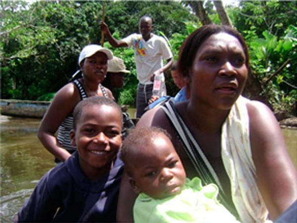 Comunidad del Cacarica, perseguida por resistir en su territorio