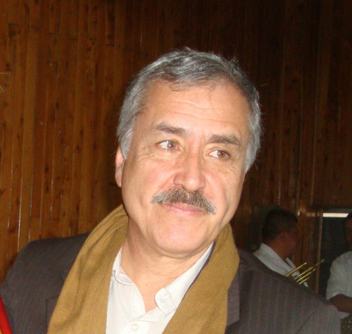 Jaime Caycedo, ex concejal y secretario general del Partido Comunista Colombiano.