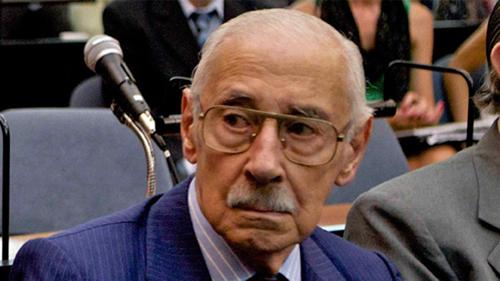 El ex dictador Jorge Rafael Videla.