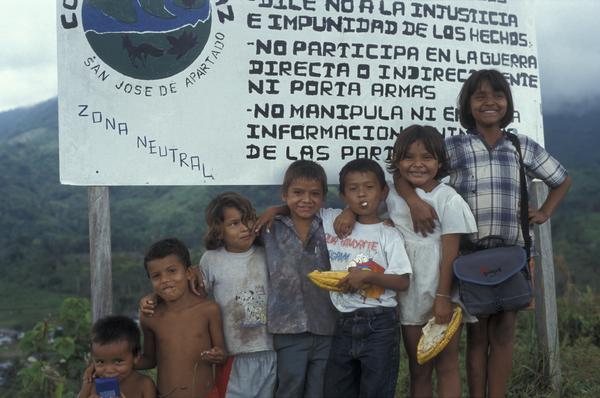 Children of the Peace community of San Jose de Apartado