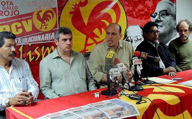 Buró Político del Partido Comunista de Venezuela (PCV)