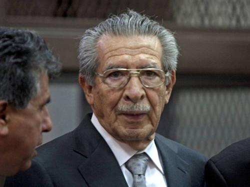 Efraín Ríos Mont, ex presidente de Guatemala