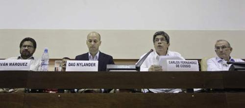 Negociadores en la Haban 2013