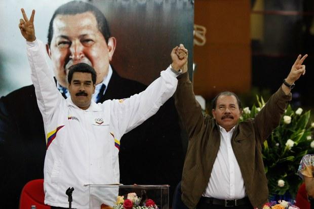 Nicolas Maduro y Daniel Ortega