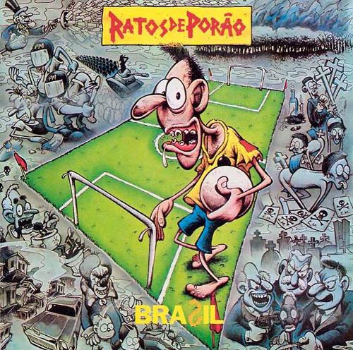 Hace 24 años, Ratos de Porao plasmó en la carátula de un disco la crisis que hoy golpea a Brasil... Aporte: Red-acción.