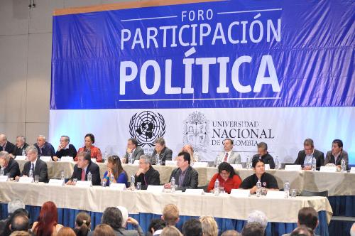 Foro de participacion politica