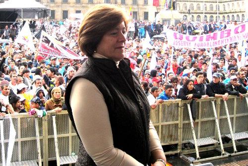 Gloria Inés Ramírez, senadora de la República.