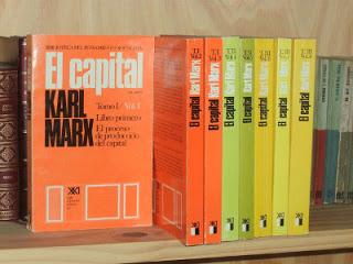 Foto Libros de El Capital- economia