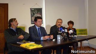Unión Patriótica. Felipe Santos, Omer Calderón, Jaime Caicedo y Jahel Quiroga-001