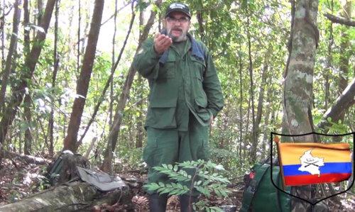 Timoleón Jiménez, Comandante del Estado Mayor de las FARC-EP en las montañas de Colombia.