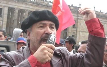 Jaime Caycedo Turriago, secretario general del Partido Comunista Colombiano PCC, exconcejal de Bogotá y destacado dirigente de la Marcha Patriótica