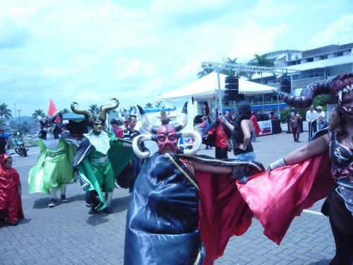 Presentación del grupo de danzas de Río Sucio. Foto C.L.