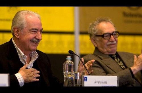 Álvaro Mutis y Gabriel García Márquez.