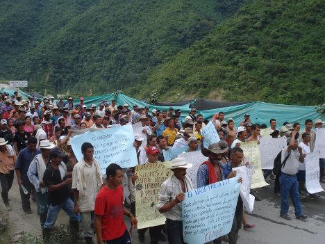 Los campesinos y campesinas se han organizado para proteger su territorio a lo largo y ancho del país. Foto archivo.