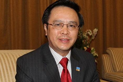 Hoang Binh Quan, miembro del Comité Central y jefe del Departamento de Relaciones Exteriores del PC de Vietnam