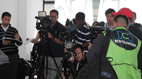 Los grandes medios de comunicación son lucrativos negocios al servicio de los intereses del capital. Foto archivo.