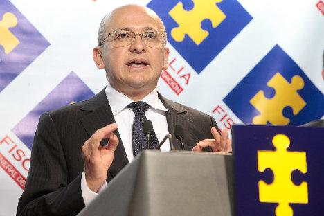 Eduardo Montealegre, fiscal general de la Nación