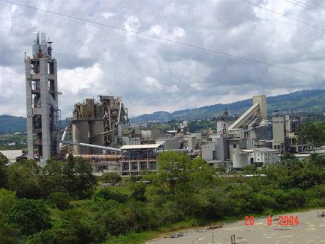 Planta de cemento de Cemex, Caracolito, en el municipio de San Luis, departamento del Tolima.