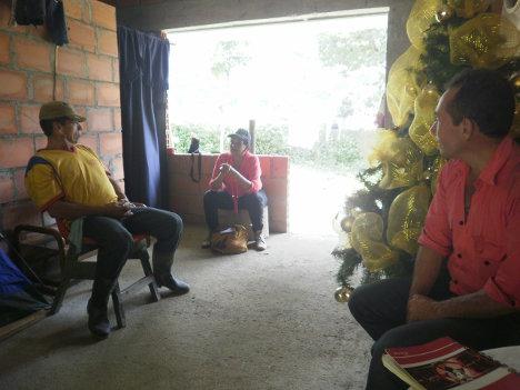 Lily Ipuz Medina, candidata a la cámara por la UP 104 en el tarjetón. Foto Nelosi