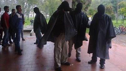 Paramilitares en la UNAL