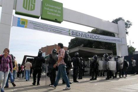 Sede de la Universidad Industrial de Santander, UIS.