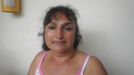 Flor Alba Castellanos, lideresa cajamarcuna. Foto Nelosi
