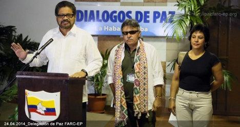 delegacion paz farc
