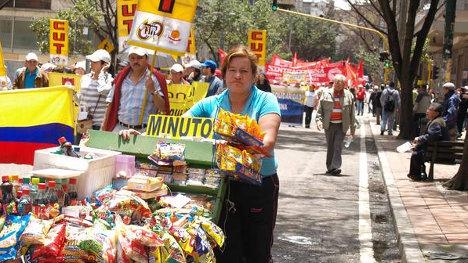 No solo trabajadores, también vendedores ambulantes, amas de casa y estudiantes marcharán el próximo Día Internacional del Trabajo. Foto: Archivo.