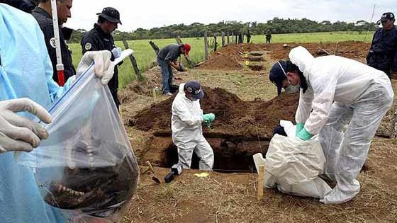 exhumaciones fiscalia