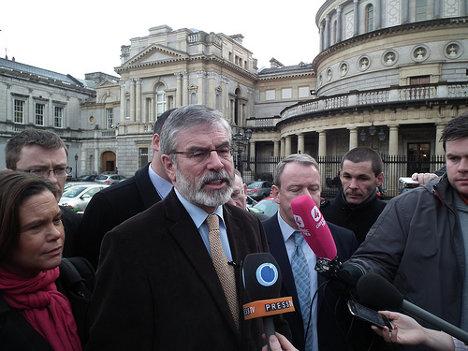 Gerry Adams. Foto: Sinn Féin via photopin cc