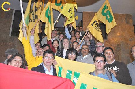 La juventud fue protagonista de la campaña por la presidencia del Polo y la UP.