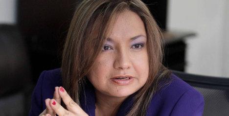 Luz Helena Sarmiento, actual ministra de Ambiente